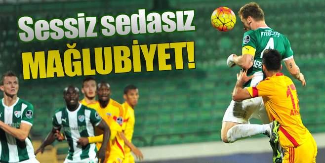 Bursaspor 1-2 Kayserispor (Maç Sonucu)