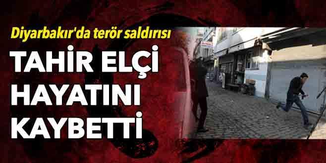 Diyarbakır'da terör saldırısı: Tahir Elçi hayatını kaybetti