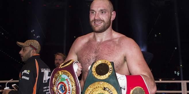 Dünya ağır sıklet boks şampiyonu Fury oldu