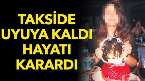 Taksici, arka koltukta sızan genç kıza tecavüz etti