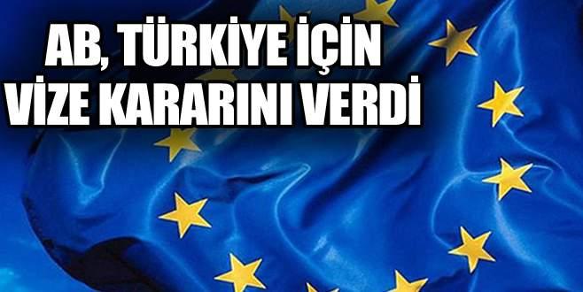 Vizesiz Avrupa için kritik tarih!