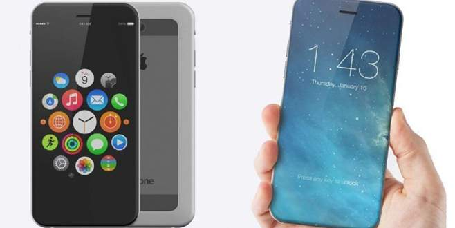 Çerçevesiz iPhone geliyor!