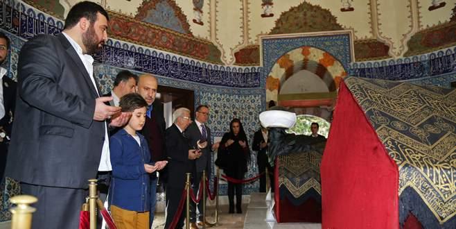 Şehzade Harun Osmanoğlu Muradiye Külliyesi'ne ziyaret
