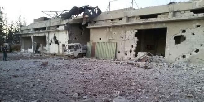 Rus uçakları ekmek fırınını bombaladı