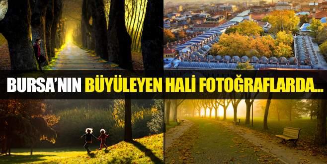 Bursa'da güz fotoğrafa böyle yansıdı
