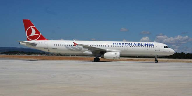 THY uçağı acil iniş yaptı!