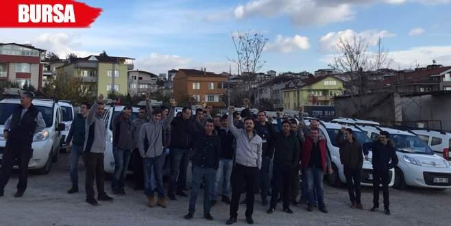 Türk Telekom işçileri eylemde