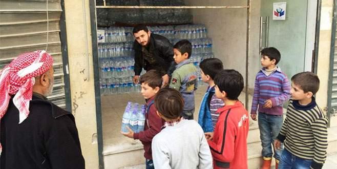 Yardım TIR'ları Halep'e ulaştı