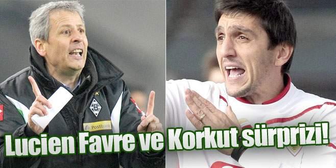 Lucien Favre ve Korkut sürprizi!