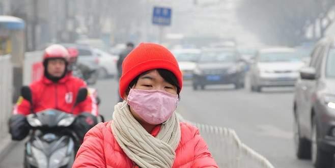 Çin'deki hava kirliliği korkutuyor