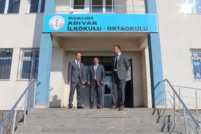 Milli Eğitim Müdürü Edip'ten Okul Ziyareti