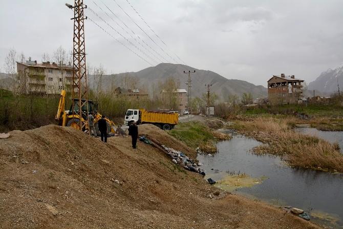 Hakkari Belediyesi Sülük Göleti İçin Çalışma Başlattı