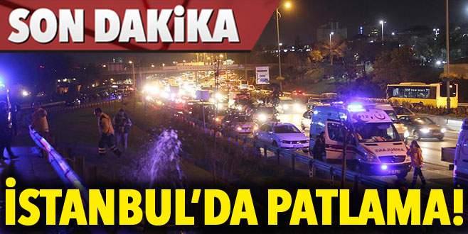 Metro yakınındaki kavşağa bomba: 1 yaralı