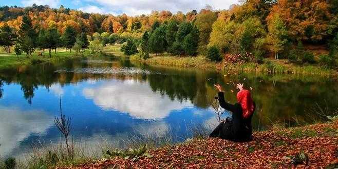 Bursa'da sonbahar güzelliği…