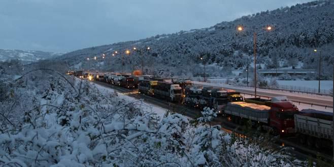Ankara ve Bolu karlar altında