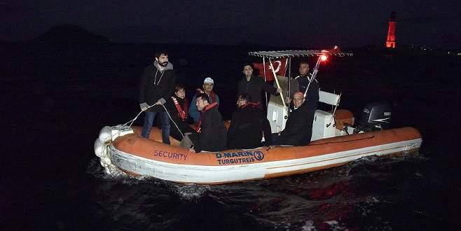 CHP heyeti, Bodrum sahilinde inceleme yaptı
