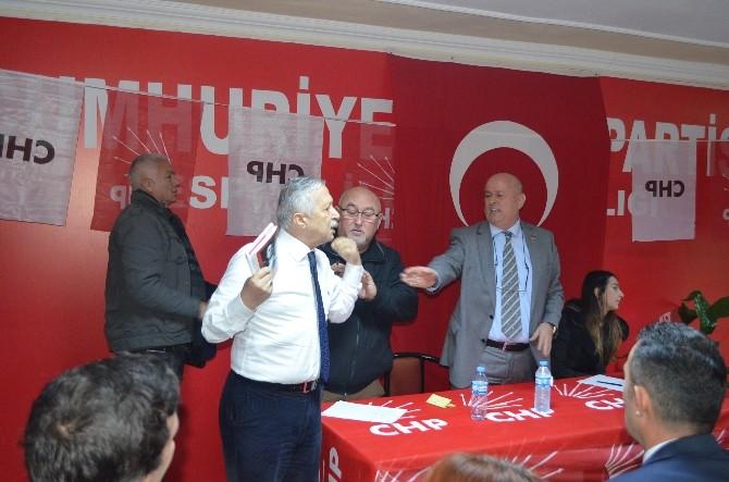 CHP Espiye İlçe Olağan Genel Kurulu Gergin Geçti