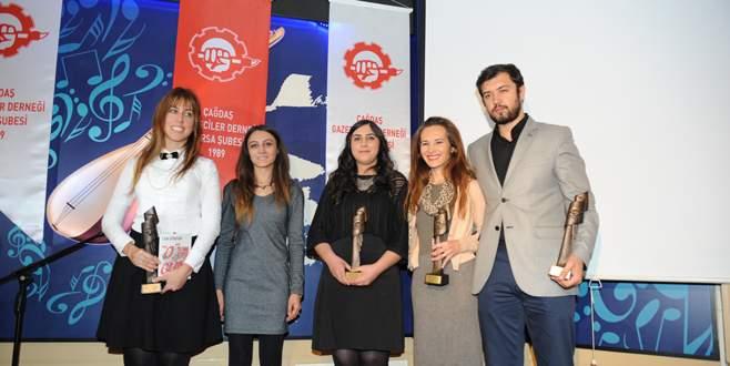 ÇGD Bursa ödülleri sahiplerini buldu