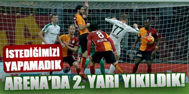 Galatasaray 3-0 Bursaspor (Maç Sonucu)