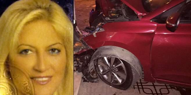 Kadın sürücü, maganda kurbanı oldu