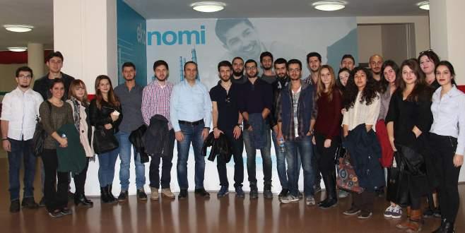 UÜ Genç Girişimciler Topluluğu Olay'ı ziyaret etti