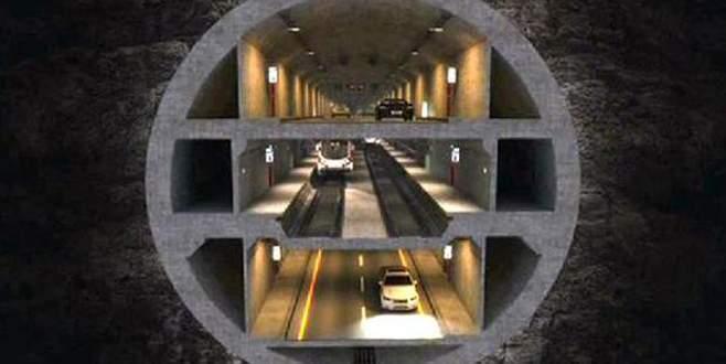 Üç katlı tünel için ilk adım 23 Aralık'ta