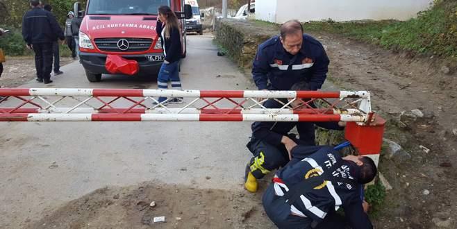 Bursa'da nefes kesen kurtarma operasyonu!