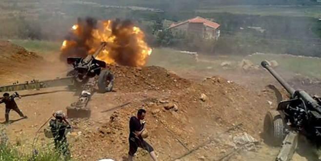 Bayırbucak'a havadan ve karadan saldırı