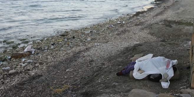 Sahile vurmuş çocuk cesedi bulundu