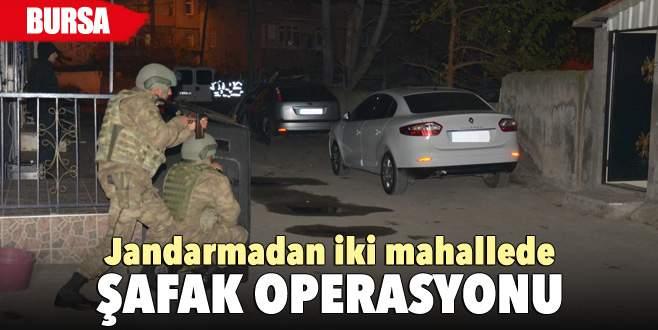 Bursa'da jandarmadan YDG-H operasyonu: 9 gözaltı