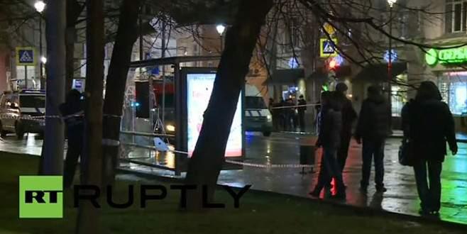 Rusya'da otobüs durağında patlama!