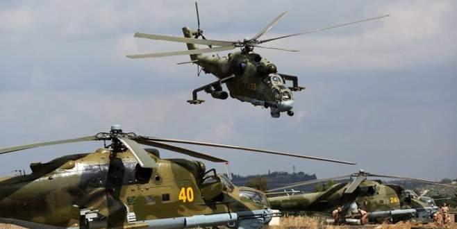 Türkiye sınırına askeri helikopter yerleştiriyorlar