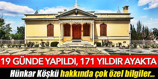 Padişah emriyle 19 günde yapıldı 171 yıldır ayakta