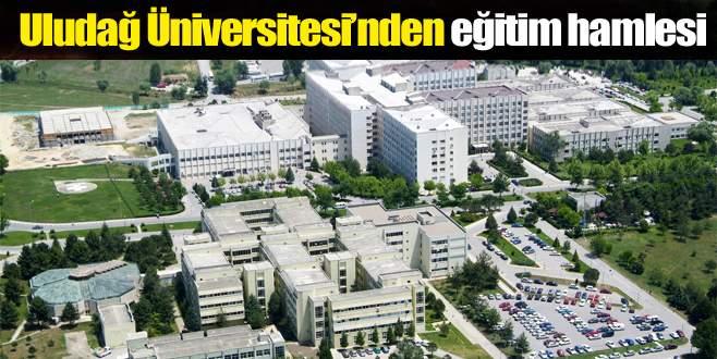 Uludağ Üniversitesi'nden uzaktan eğitim hamlesi