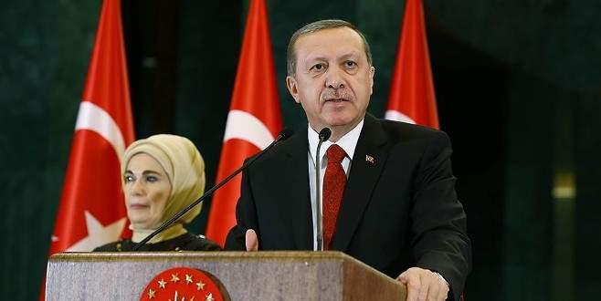 Erdoğan'ın torun sevinci