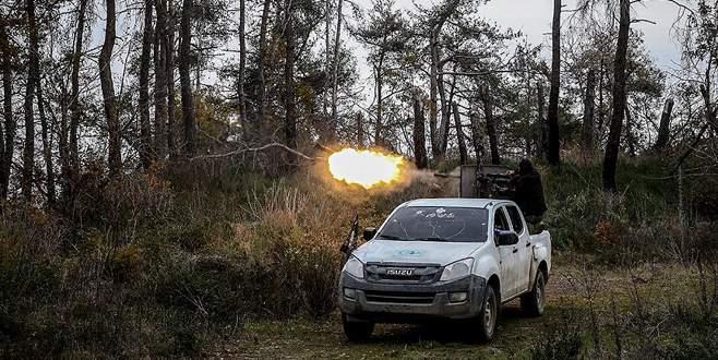 Türkmen birlikler 'Kızıldağ' için çarpışıyor