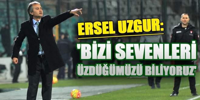 Ersel Uzgur maç sonu çarpıcı açıklamalarda bulundu!