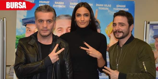 'Düğün Dernek 2: Sünnet' filminin oyuncuları Bursa'da