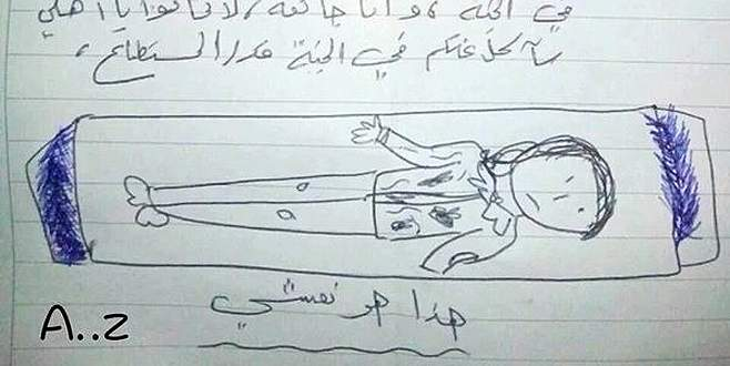Suriyeli kızın yürek burkan vasiyeti