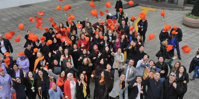 Osmangazi'de turuncu etkinliğe büyük destek
