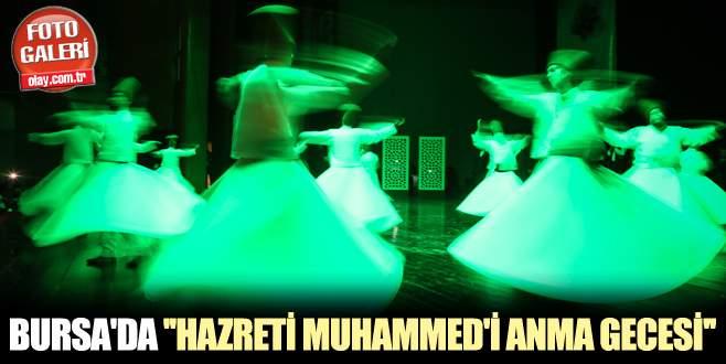 "Bursa'da ""Hazreti Muhammed'i anma gecesi"""