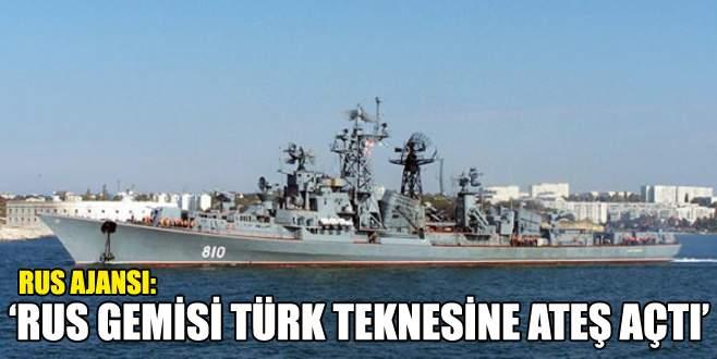 Ege Denizi'nde Rusya-Türkiye gerilimi