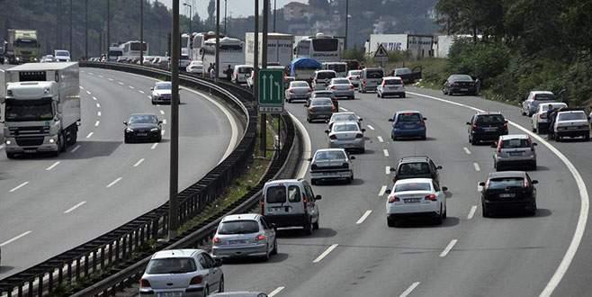 Trafiğe kayıtlı araç sayısında % 5,8 artış