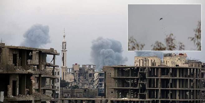 Duma'da siviller vuruldu