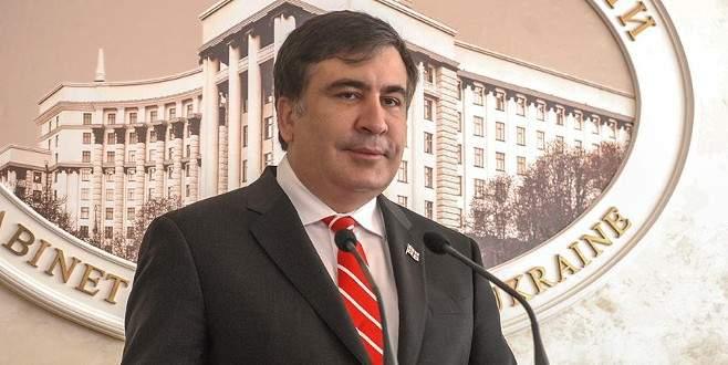 Saakaşvili'ye 'sulu' saldırı