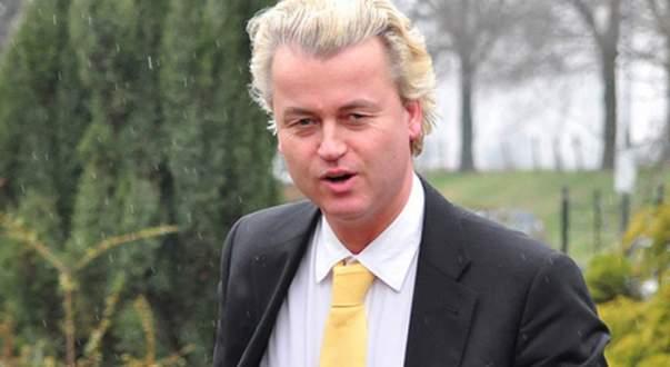 'Yılın Siyasetçisi' Geert Wilders