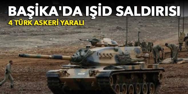 Başika'da IŞİD saldırısı: 4 Türk askeri yaralı!