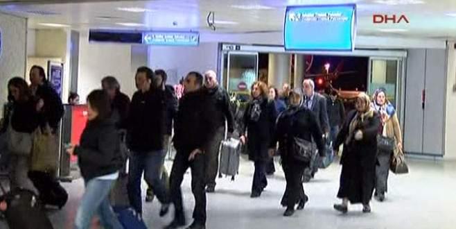 Dış hat yolcuları yanlışlıkla iç hatlara yönlendirildi
