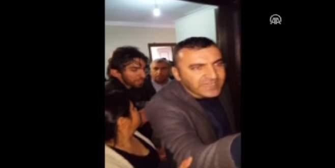 HDP'li vekil polise ateş açılan dairenin aranmasına engel oldu