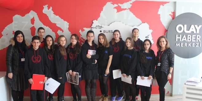 Altınşehir Koleji'nden Olay Medya'ya ziyaret